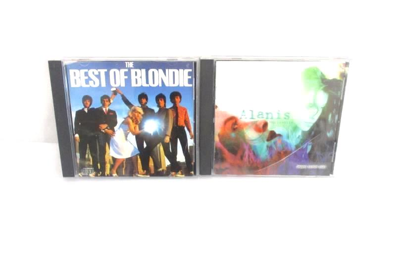 Lot Of 2 - The Best Of Blondie CD And Alanis Morissette Jagged Little Pill CD