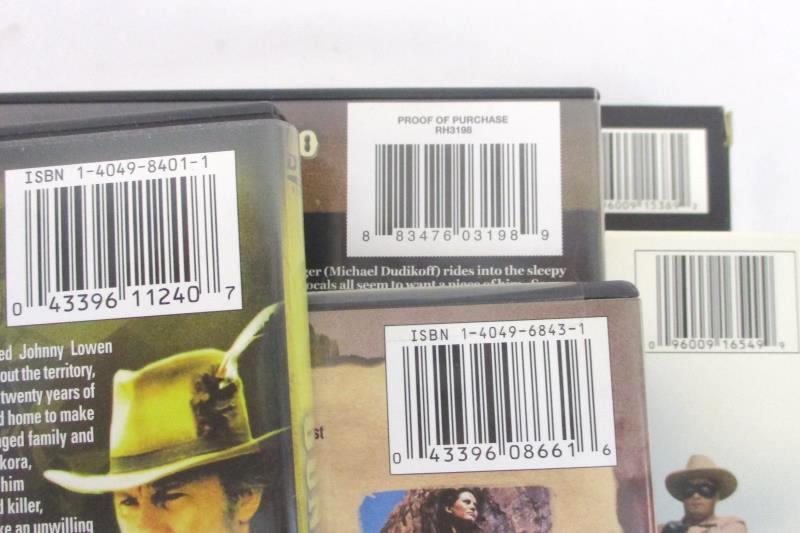Lot of 5 Western DVD's The Lone Ranger, Deadly Shooter, Gunslingers Revenge ETC.