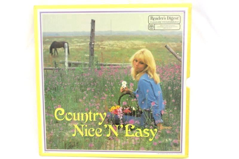 Country Nice N Easy Vtg LP Vinyl 7 Record Set Readers Digest RCA Records 1984