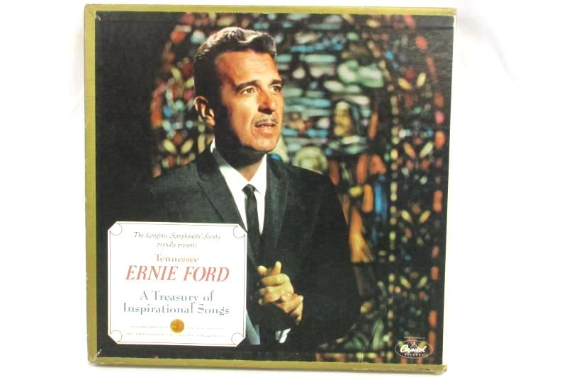 Tennessee Ernie Ford A Treasury of Inspirational Songs 1968 6 LP Record Set