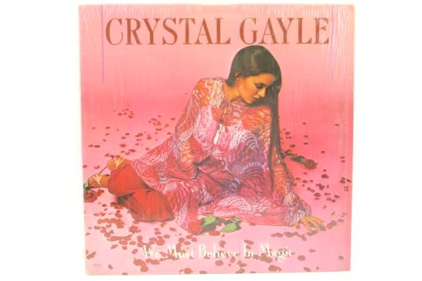 Crystal Gayle We Must Believe In Magic 1977 12in 33rpm LP Record UA-LA771-G