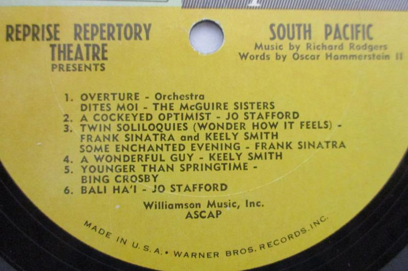 Rodgers & Hammerstein's South Pacific 1965 Vinyl Record Morris Stoloff