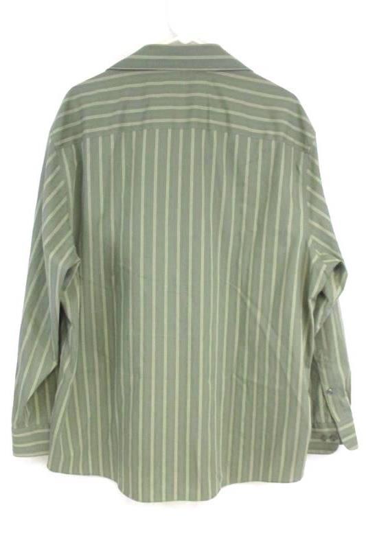 ML Material London Men's Iron Free Long Sleeve Button Up Dress Shirts Sz XL 17.5