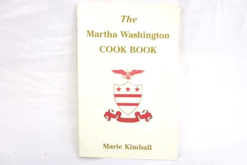 The Martha Washington Cook Book Marie Kimball 1940 2002 Coward McCann 15843