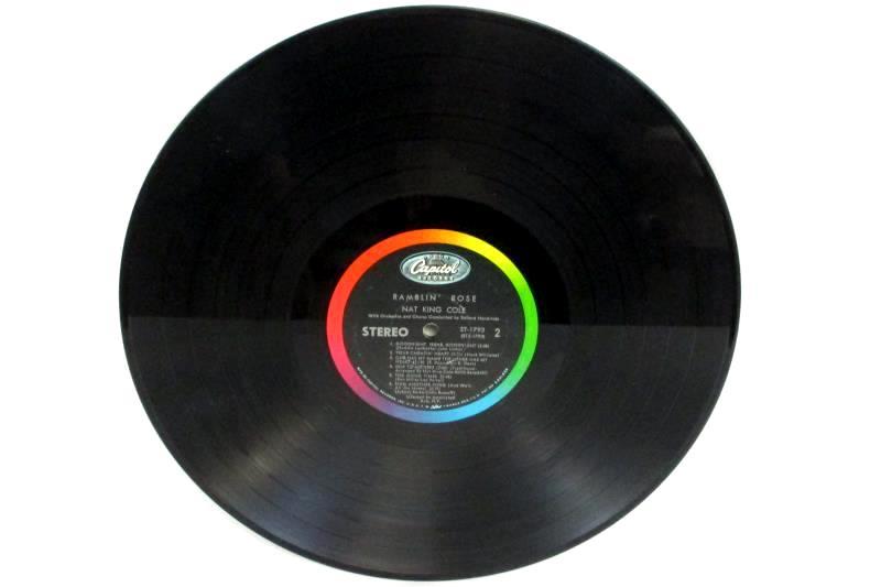 Nat King Cole Ramblin' Rose Capitol Records 33 RPM  Vinyl LP ST 1793