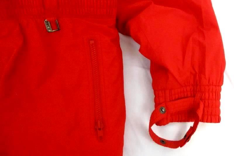 Vintage Fera Women's Snow Ski Suit One Piece InfraRed Half Zip Insulated Size 8