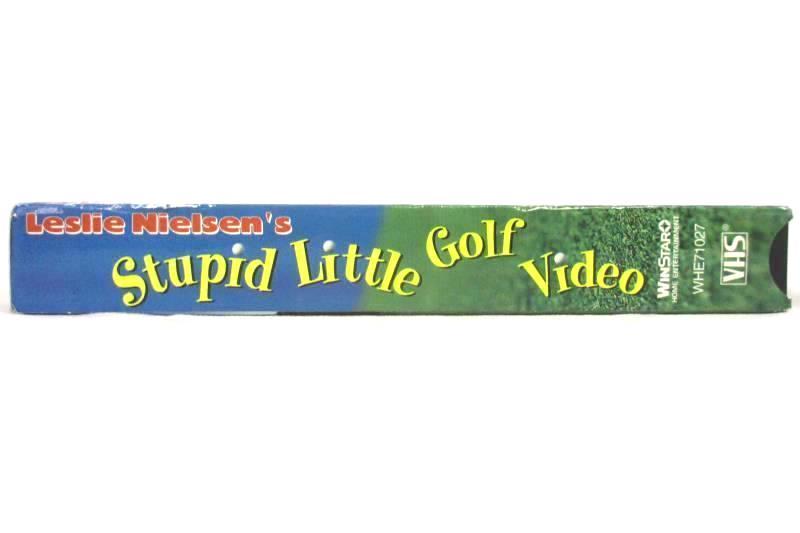 Leslie Nielsen's Stupid Little Golf Video VHS Tape 1997 Fox Lorber WinStar