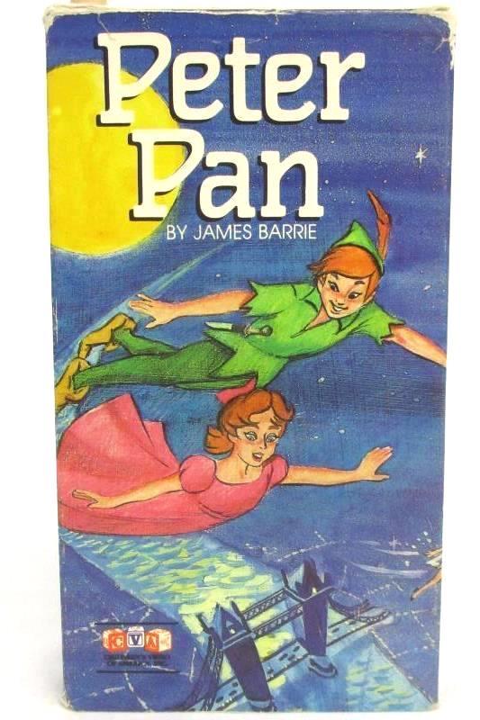 Peter Pan By James Barrie VHS 1989 Children's Video Of America CVA182 Rare