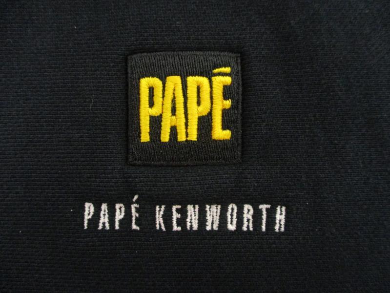 PAPE Kenworth Sport Tek Men's Quarter Zip Pull Over Sweatshirt Navy Blue Sz 3XL