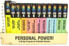Personal Power 30 Day Program 24 Audio Cassettes Journal Set - Missing One Tape