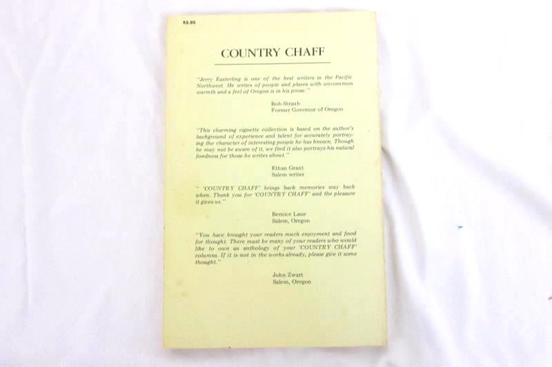 Country Chaff by Jerry Easterling 1983 Signed Binford & Mort Oregon Experiences
