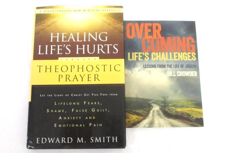 Lot 2 Healing Ministry Books Overcoming Life's Challenges Healing Life's Hurts