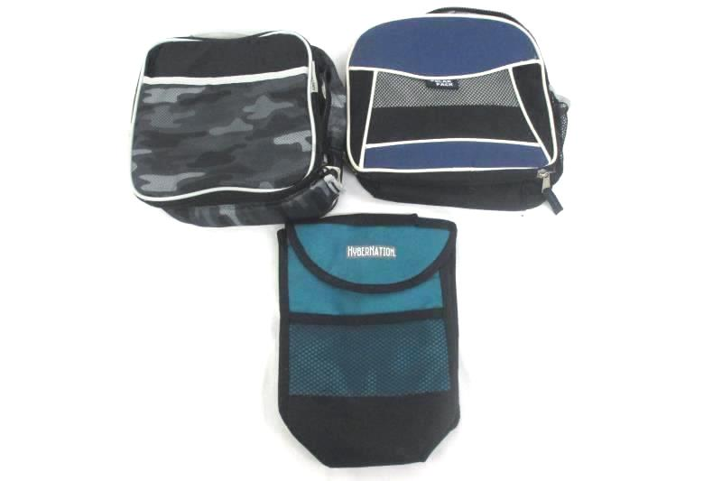 Lot of 3 Insulated Lunch Bags Polar Pack Arctic Zone Hybernation