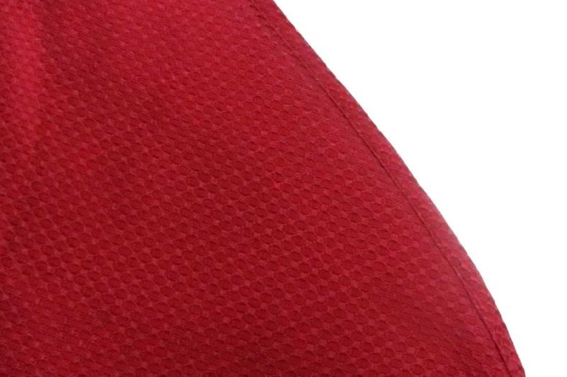 Waterford Rectangular Traditional Elegant Burgundy Dark Red Tablecloth