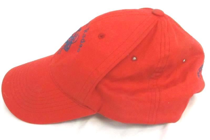 St Paul Rodeo Oregon Women's Red Hat Cap Snapback Sportsman Princess Addie