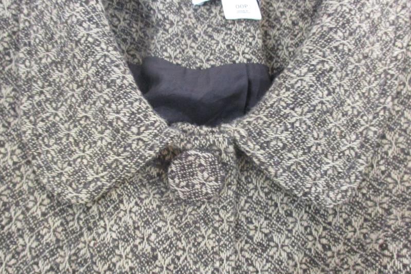 Ann Taylor Loft Women's Brown Tweed Petite Blazer Suit Jacket Button Up Size 00P
