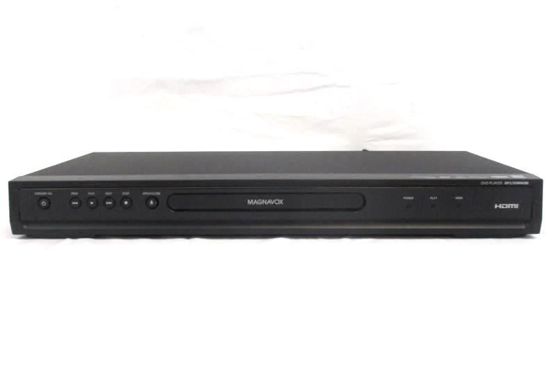 Magnavox DP170MW8 Black Progressive Scan 1080p Up Conversion DVD Player