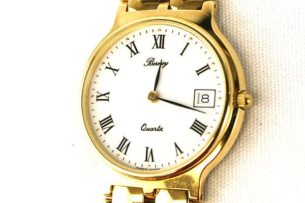 Berney Swiss Quartz Movement Mens Wristwatch With Bubble Bracelet Band