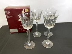 Set of 4 - MIKASA Interlude Crystal Wine Glasses Glasses with Box w. Germany