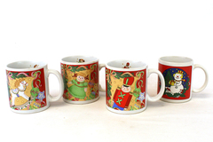 3 Traditions Christmas Mugs dated 1992 Plus Another Christmas Mug