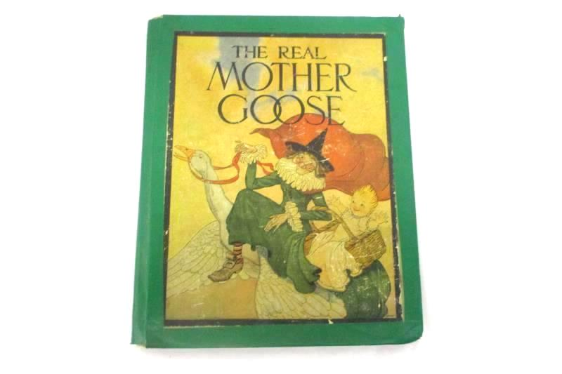 The Real Mother Goose Illustrated by Blanche Fisher Wright 1941 Ed Hardcover