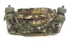 Fieldline AP Real Tree Waist Pack Hunting Bag With 2 Water Bottles