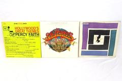 Lot of 3 Movie Soundtrack Vinyl Records Sgt Peppers Golden Arm Percy Faith