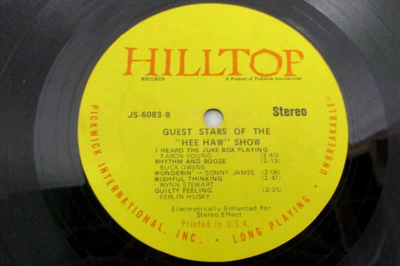 Vintage 1978 LP Guest Stars Of The Hee-Haw Show Jones Young Owens James Pickwick