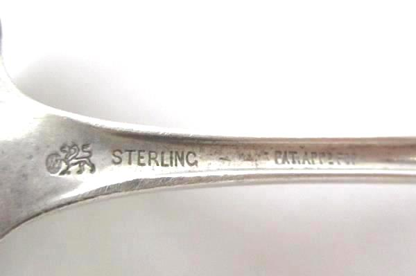 Rare Whiting Sterling Silver Ladle Scalloped Square Bowl Gravy Cream Pat App