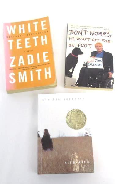 Lot of 3 Humor/Realistic Fiction Novels Books Stephen Steinberg William Faulkner
