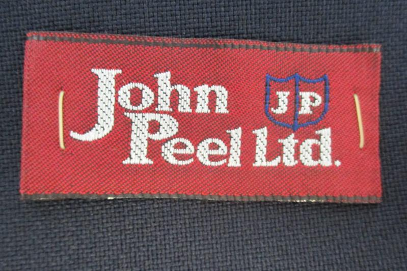 John Peel Men's Navy Blue 2 Button Blazer Sport Coat Jacket Size 44L With Tag
