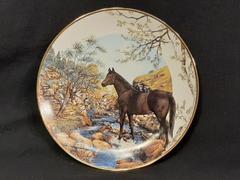 1989 Plate A Country Season of Horses Summer Splendor Hamilton Collection