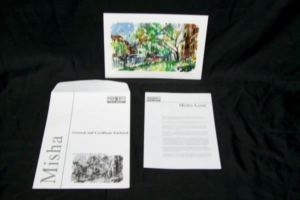 Misha Lenn Commonwealth in Bloom Seriolithograph Artwork and Certificate