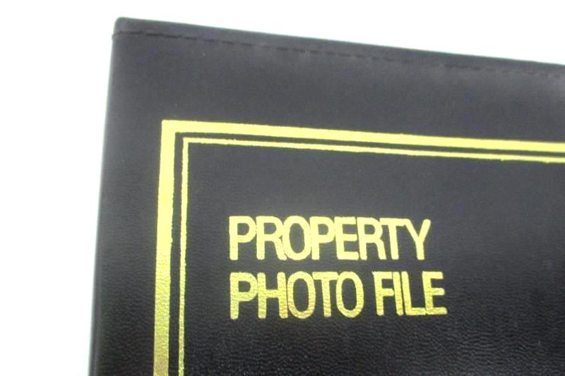 Three Ring Property Photo File For Recording Valuables