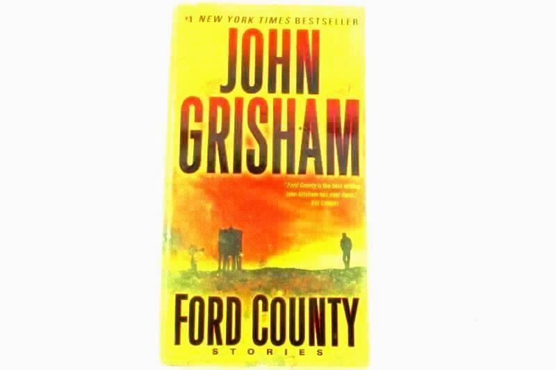3 John Grisham Paperback Novels Ford County The Firm The Street Lawyer