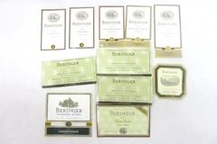 Lot of 11 Beringer Wine Bottle Labels Unused
