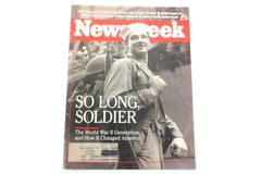 Newsweek Magazine So Long Soldier The World War II Generation January 11 1993