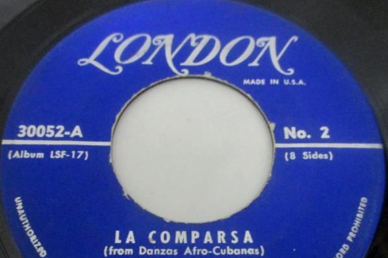 Vintage Music of Ernesto Lucuona Four Record Latin Music Set 45 RPM