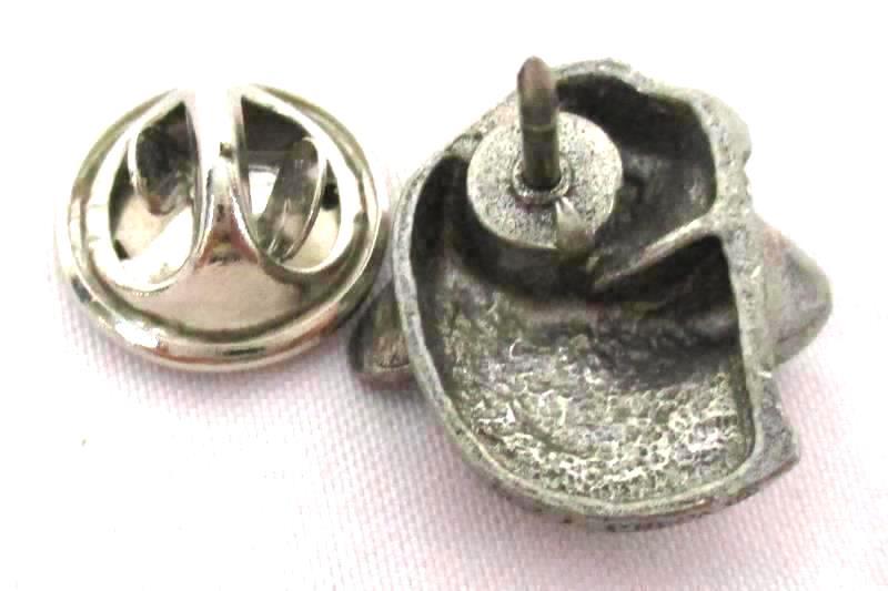 Cougar Head Pewter Pin Tie Tac Hat Lapel Vest Button