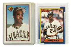 2 Barry Bonds Baseball Cards Bowman 426 Topps 220 Pittsburgh Pirates 1989 1990