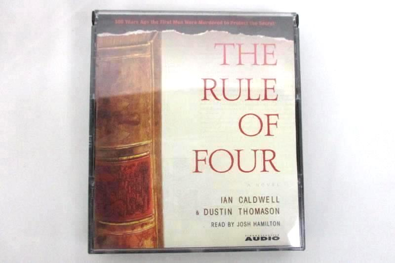 The Rule of Four by Dustin Thomason Ian Caldwell 2004 5 CD Collection AudioWorks