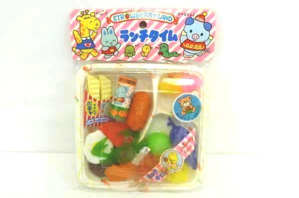 Vintage StrawberryLand Kitchen Play Set Japanese Original Packaging