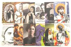1995 Aziriah Co Holy Traders Trading Cards Set Number 2 Includes 24 Cards