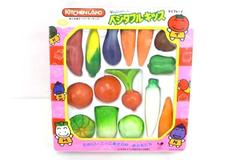 Vintage Vegetable Kid's KitchenLand Kitchen Play Set Japanese Original Packaging