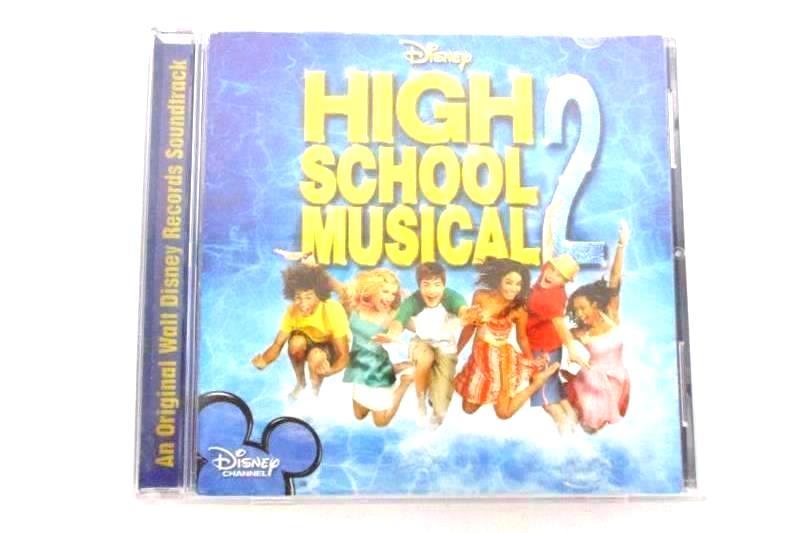 High School Musical 2 Movie Soundtrack CD 2007 Disney Records Disney Channel