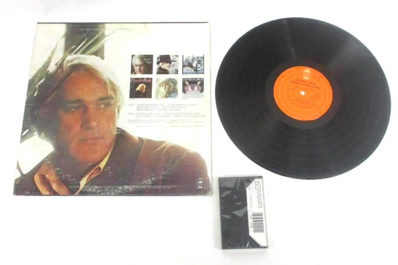 2 Charlie Rich Greatest Hits LP Vinyl Record The Best Of Times Cassette Tape