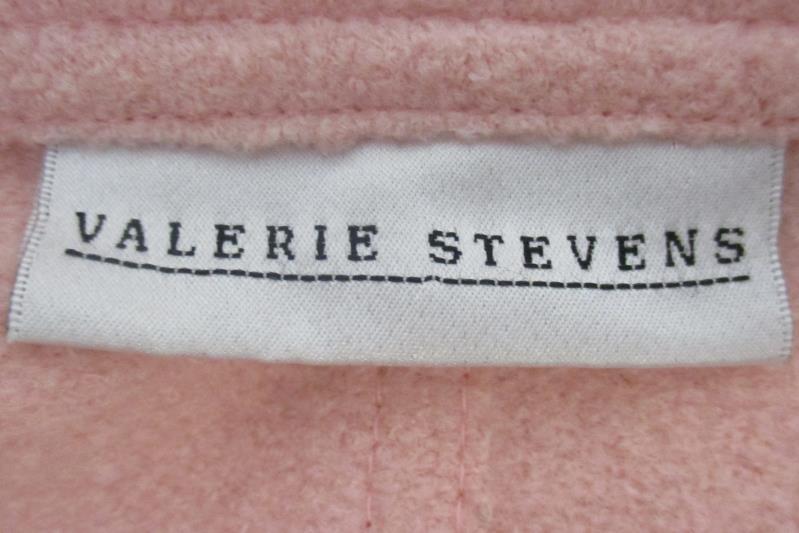 Valerie Stevens Women's Jacket Blazer 4 Button Woolrich Blend Light Pink Size 10