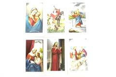 Lot of 30 Fratelli Bonella Mini Holy Prayer Cards Assorted Made In Italy