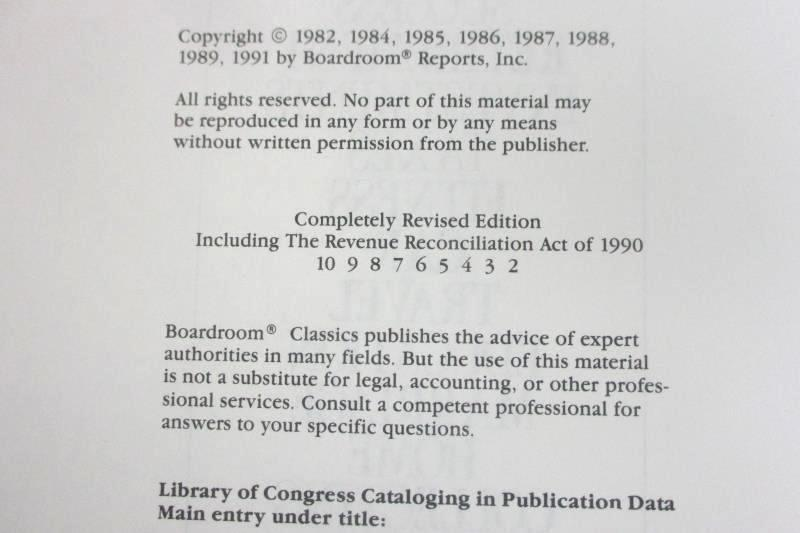 The Book Of Inside Information - 1990 Bottom Line Coffee Table Book