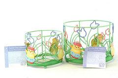 Set of 2 FIGI Easter Chick Plant Pot Holders